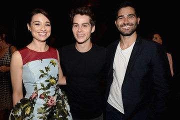 Crystal Reed Dylan O'Brien 2013 Young Hollywood Awards Presented By Crest 3D White And SodaStream / The CW Network - Backstage