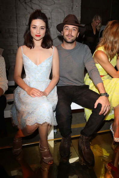 Crystal Reed - Front Row at the Alex Perry Show