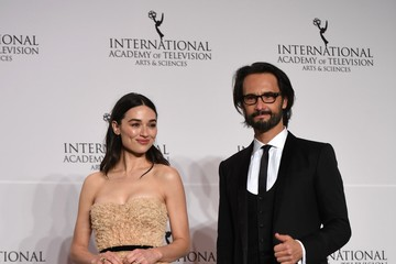 Crystal Reed 45th International Emmy Awards - Press Room
