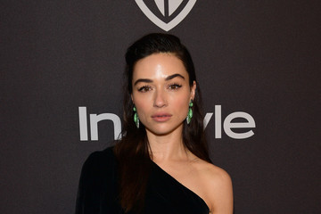 Crystal Reed The 2019 InStyle And Warner Bros. 76th Annual Golden Globe Awards Post-Party - Red Carpet