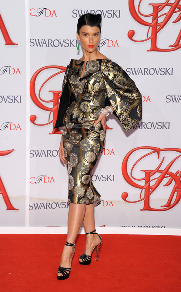 Crystal Renn - 2012 CFDA Fashion Awards - Arrivals