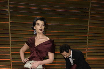 Crystal Renn Stars at the Vanity Fair Oscar Party