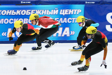 Csaba Burjan Samsung ISU World Cup Short Track: Day 2