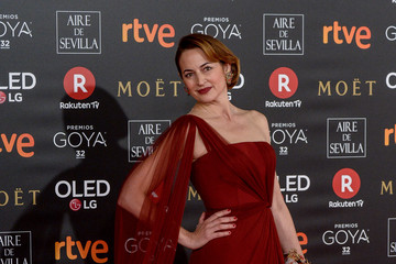Cuca Escribano Goya Cinema Awards 2018 - Red Carpet