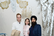 (L-R) Charles Rockefeller, Zani Gugelmann, and Waris Ahluwalia attend The Cultivist x MatchesFashion.com Present: The Bazaar on May 01, 2019 in New York City.