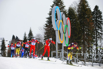 Curdin Perl Cross-Country Skiing - Winter Olympics Day 2