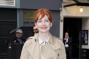 """Alice Levine attends the press night for """"The Curious Incident Of The Dog In The Night-Time"""" at Gielgud Theatre on July 8, 2014 in London, England."""