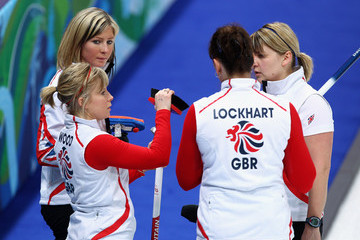 Kelly Wood Lorna Vevers Curling - Day 6
