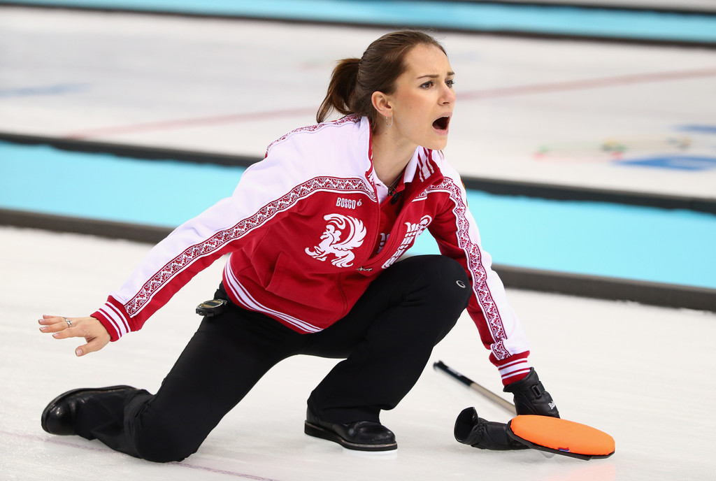 Womens curling russia