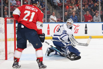 Curtis McElhinney Toronto Maple Leafs vs. Florida Panthers