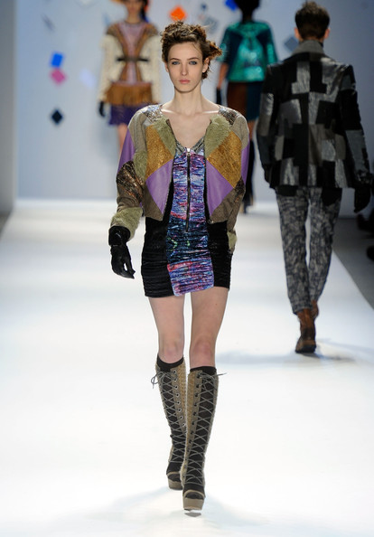 Custo Barcelona - Runway - Fall 2012 Mercedes-Benz Fashion Week