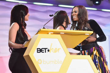 Cymphonique Miller Saweetie Bumble Presents BETHer Awards