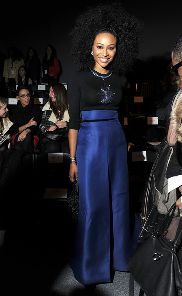 Cynthia Bailey - Zang Toi - Front Row - Fall 2012 Mercedes-Benz Fashion Week