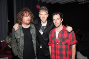 "(L-R) Jonah Freeman, Jefferson Hack and Justin Lowe attend the DAZED and Red Bull Studios New York Opening Of ""Scenario In The Shade"" Hosted By Jefferson Hack, Jonah Freeman, Justin Lowe, And Jennifer Herrema at Red Bull Studios New York on September 10, 2015 in New York City."