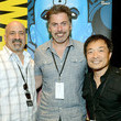 Geoff Boucher and Dan DiDio Photos