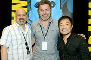 Geoff Boucher and Dan DiDio Photos Photo