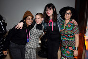 """(L-R) Minhal Baig, Anna Chlumsky, Mandy Hoffman, and Yamit Shimonovitz at the """"Hala"""" party at DIRECTV Lodge presented by AT&T at Sundance Film Festival 2019 on January 26, 2019 in Park City, Utah."""