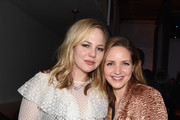 "Adelaide Clemens (L) and Jordana Spiro at the ""To the Stars"" party at DIRECTV Lodge presented by AT&T at Sundance Film Festival 2019 on January 25, 2019 in Park City, Utah."