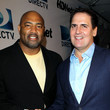 Dermontti Dawson DIRECTV And Mark Cuban's HDNet Super Bowl Party - Red Carpet