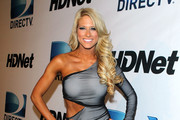 WWE Diva Kelly Kelly arrives at Super Bowl Party hosted by DIRECTV and Mark Cuban's HDNet at Victory Park on February 5, 2011 in Dallas, Texas.