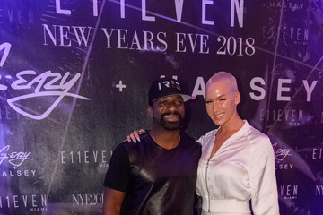 DJ Irie G-Eazy + Halsey Ring In The New Year 2018 At E11EVEN Miami