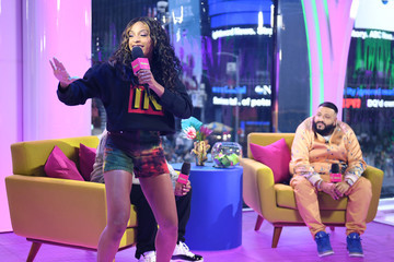 DJ Khaled Jamila Mustafa 'MTV Presents: Khaled Con,' A DJ Khaled-Hosted Fan Event In MTV's Times Square Studio, Celebrating The Release Of 'Father Of Asahd'