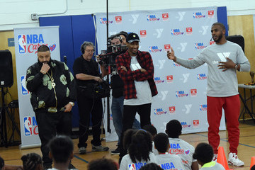 DJ Khaled Chris Paul and NBA Cares Assist New Orleans Dryades YMCA