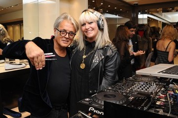 DJ Nikki Giuseppe Zanotti Event for Vogue's Fashion Night Out