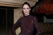 Coco Rocha attends the DKMS dinner at Casa La Femme on February 12, 2020 in New York City.