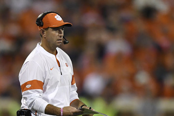 Dabo Swinney Boston College v Clemson