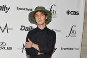 Actor Ellar Coltrane attends the The Daily Front Row's 4th Annual Fashion Media Awards  at Park Hyatt New York on September 8, 2016 in New York City.