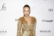 Romee Strijd attends The Daily Front Row's 7th annual Fashion Media Awards on September 05, 2019 in New York City.
