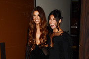 Negin Mirsalehi and Raissa Gerona attend The Daily Front Row's 7th annual Fashion Media Awards on September 05, 2019 in New York City.