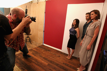 Daisy Betts Behind The Scenes Of The Getty Images Portrait Studio Powered By Samsung Galaxy At 2015 Summer TCA's