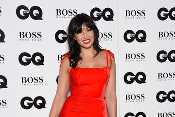 Daisy Lowe Guests Arrive at the GQ Men of the Year Awards
