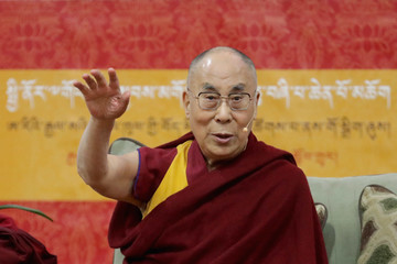 Dalai Lama Dalai Lama Delivers Address In Washington DC