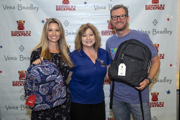 Dale Earnhardt Jr. Vera Bradley X Blessings In A Backpack Event With Dale And Amy Earnhardt