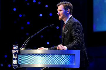 Dale Earnhardt Jr. NASCAR Hall of Fame Induction Ceremony