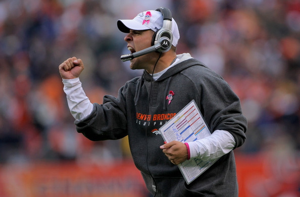 Josh McDaniels; photo by Doug Pensinger/Getty Images North America