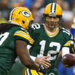Aaron Rodgers and Eddie Lacy Photos