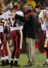 Jason Campbell Jim Zorn Dallas Cowboys v Washington Redskins