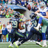 Earl Thomas Photos - Linebacker Bobby Wagner #54 of the Seattle Seahawks hits Tight End Blake Jarwin #89 of the Dallas Cowboys as he attempts to make a catch during the second half at CenturyLink Field on September 23, 2018 in Seattle, Washington. - Dallas Cowboys vs. Seattle Seahawks