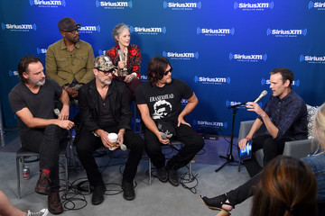 Dalton Ross SiriusXM 'Town Hall' With the Cast of 'The Walking Dead'