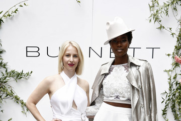 Damaris Lewis Burnett Spring 2020 Runway Show And Garden Party