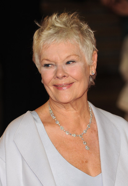 ... dame judi dench dame judi dench attends the royal world premiere of