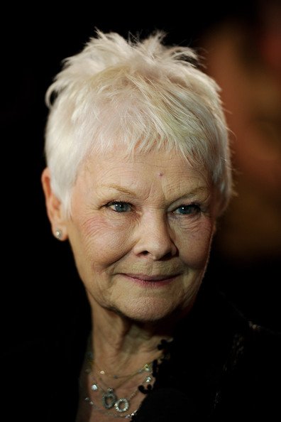 Judy Dench Hairstyle Front And Back | Short Hairstyle 2013