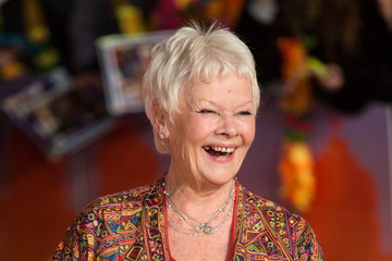 Dame Judi Dench The Royal Film Performance: 'The Second Best Exotic Marigold Hotel' - World Premiere - Red Carpet Arrivals
