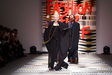 Dame Vivienne Westwood Fashion for Relief Runway Show
