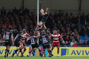 Damian Welch Exeter Chiefs v Gloucester Rugby - Aviva Premiership