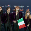 Damiano David Eurovision Song Contest 2021 - Turquoise Carpet Arrivals